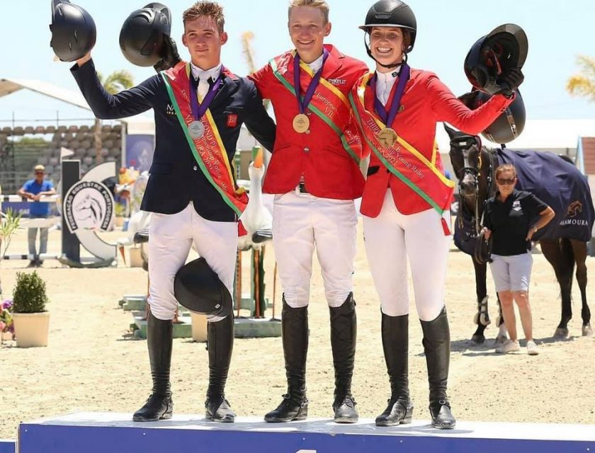 Team Belgium wins gold at the European Championships for Young Riders!